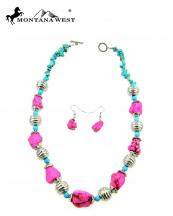 NKY09022702(PKTQ)-MW-wholesale-montana-west-necklace-earring-set-multi-turquoise-beads-short(0).jpg