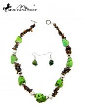 NKY09022707(GN)-MW-wholesale-montana-west-necklace-earring-set-multi-turquoise-beads-short(0).jpg