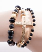 OB05640GL(BLK)-wholesale-cross-bracelet-metal-jewelry-round-charm-rhinestone-wrap-around-resin-bead-beaded-(0).jpg