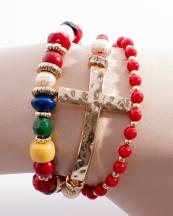 OB05640GL(COR)-wholesale-cross-bracelet-metal-jewelry-round-charm-rhinestone-wrap-around-resin-bead-beaded-(0).jpg