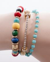 OB05643GL(TQS)-wholesale-bracelet-metal-jewelry-round-charm-rhinestone-wrap-around-resin-bead-beaded-(0).jpg