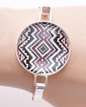 OB05679SV(BWT)-wholesale-bracelet-metal-multi-color-aztec-tribal-epoxy-stone-hook-emblem-round-southwestern(0).jpg