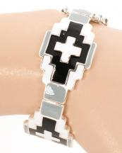 OB05690(SVBWT)-wholesale-metal-round-bracelet-stretch-jewelry-aztec-star-southwestern-cross-multicolor(0).jpg