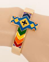 OB05691GL(BML)-wholesale-metal-chevron-cross-bracelet-jewelry-cuff-multi-color-(0).jpg