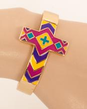 OB05691GL(FYL)-wholesale-metal-chevron-cross-bracelet-jewelry-cuff-multi-color-(0).jpg