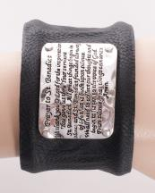 OB05833AS(BLK)-wholesale-bracelet-leather-cuff-metal-passage-prayer-engraved-metal-plaque-(0).jpg