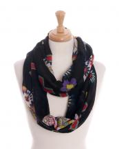 OF0062(BK)-wholesale-infinity-scarf-cross-sugar-skull-floral-flower-(0).jpg