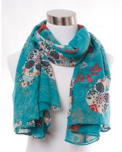 OF0101(TQ)-wholesale-sugar-skull-flower-diamond-pattern-scarf-polyester(0).jpg