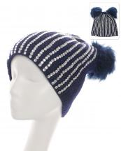 OH0796(NV)-wholesale-beanie-rhinestones-two-fur-pom-pom-solid-color-knitted-stretch-fit-acrylic-one-size(0).jpg