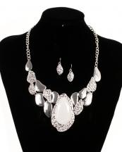 OS04021SV(IVY)-wholesale-necklace-earrings-metal-embossed-silver-epoxy-stone--(0).jpg