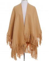 OZ0025(TAN)-wholesale-ruana-poncho-wrap-shawl-solid-color-plain-fringe-one-size-polyester-diffent-front-length(0).jpg