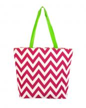 P18601-Z(PG)-wholesale-tote-bag-handbag-nylon-chevron-polyester-zigzag-embroiderable(0).jpg