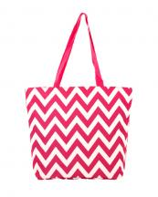 P18601-Z(PK)-wholesale-tote-bag-handbag-nylon-chevron-polyester-zigzag-embroiderable(0).jpg