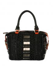 P2891(BK)-wholesale-beads-woven-leatherette-boston-bags(0).jpg