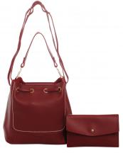 PA0007(RD)-wholesale-handbag-clutch-set-2pcs-solid-color-leatherette-faux-leather-shoulder-strap-drawstring(0).jpg