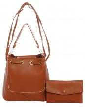 PA0007(TAN)-wholesale-handbag-clutch-set-2pcs-solid-color-leatherette-faux-leather-shoulder-strap-drawstring(0).jpg