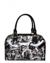 PA0034(BK)-wholesale-handbag-michelle-barack-obama-magazine-printed-patent-faux-leatherette-gold-hardware-black(0).jpg