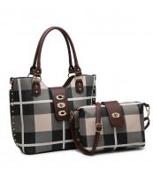 PC3001A(BGCF)-(SET-2PCS)-wholesale-handbag-wallet-plaid-checkered-flap-over-strap-faux-leatherette-gold-hardware-wristlet-set(0).jpg