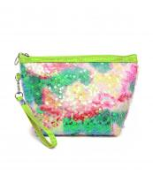 PCH157(GRN)-wholesale-cosmetic-sequnce-pouch-bag-wristlet-strap-linen-purse-pouch(0).jpg