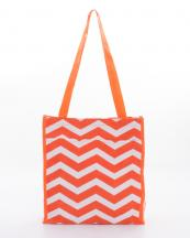PH3013(OR)-wholesale-polyester-chevron-tote-bag--coin-pouch(0).jpg