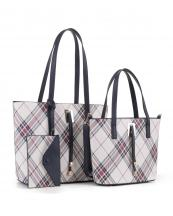 PL5630T(NV)-wholesale-leatherette-handbag-set-plaid-vegan-leatherette-wristlet-metal-feet-striped-microfiber(0).jpg
