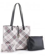 PL5666T(BK)-wholesale-leatherette-handbag-set-plaid-vegan-leatherette-wallet-messenger-bag-striped-microfiber(0).jpg