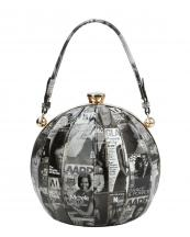 PQ024(BKWT)-wholesale-handbag-sphere-ball-shaped-michelle-barack-obama-magazine-patent-rhinestone-faux-vegan(0).jpg