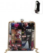 PQ054(MUL)-wholesale-messneger-bag-michelle-barack-obama-magazine-patent-vegan-rhinestone-gold-frame-chain(0).jpg