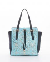 PZ70(AQBK)-wholesale-handbag-faux-leather-leatherette-two-tone-rhinestone-stud-studded-zipper-drawstring(0).jpg