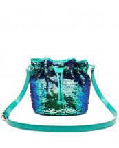 QINS5635(EMERALD)-wholesale-messenger-bag-sequin-patent-leatherette-drawstring-bucket-shape-crossbody-metallic-shiny(0).jpg