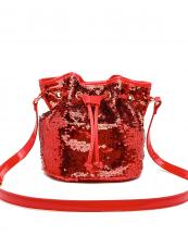 QINS5635(RD)-wholesale-messenger-bag-sequin-patent-leatherette-drawstring-bucket-shape-crossbody-metallic-shiny(0).jpg