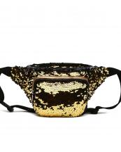 QINS5647(GD)-wholesale-fanny-pack-waist-bag-sequins-patent-leatherette-metallic-shiny-bling-rainbow-zipper-buckle(0).jpg