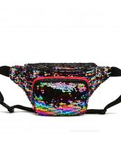 QINS5647(MUL)-wholesale-fanny-pack-waist-bag-sequins-patent-leatherette-metallic-shiny-bling-rainbow-zipper-buckle(0).jpg