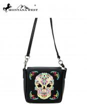 RLCL112(BKMUL)-MW-wholesale-messenger-bag-sugar-skull-real-genuine-leather-flap-crossbody-strap-single-compartment(0).jpg