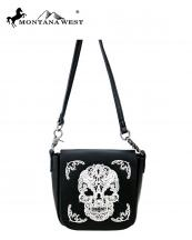 RLCL112(BKWT)-MW-wholesale-messenger-bag-sugar-skull-real-genuine-leather-flap-crossbody-strap-single-compartment(0).jpg