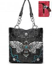RLW5226(BK)-wholesale-handbag-cross-wings-concho-concealed-croc-alligator-rhinestone-stud-turquoise-stone-chain-(0).jpg