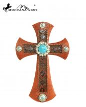 RSD1618(BR)-MW-wholesale-montana-west-wall-cross-11-aztec-texture-resin-turquoise-stone-conchos(0).jpg