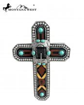 RSD382(BRYE)-MW-wholesale-montana-west-wall-cross-11-aztec-texture-resin-buckle-turquoise-stone-conchos(0).jpg