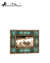 RSP1608(TQ)-MW-wholesale-montana-west-photo-frame-6x4-aztec-pattern-resin-texture-multi-crosses(0).jpg