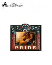 RSP1831(MUL)-MW-wholesale-montana-west-photo-frame-6x4-rebel-flag-pride-leather-like-resin-texture(0).jpg