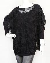 SBP865(BK)-wholesale-poncho-plain-basic-squin-polyester-sheer-lace-flower-georgette-(0).jpg
