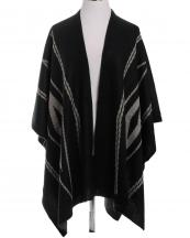 SBR1081(BK)-wholesale-ruana-wrap-shawl-diamond-knitted-two-tone-one-size-acrylic-fashion-kimono-style(0).jpg