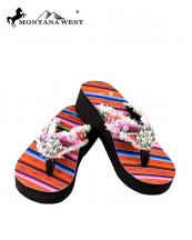 SE32S002(COR)-(SET-12PCS)-MW-wholesale-flip-flops-12pc-set-montana-west-serape-wedge-canvas-crystal-concho-rhinestones-stud(0).jpg