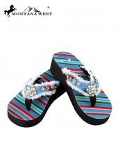 SE32S002(TQ)-(SET-12PCS)-MW-wholesale-flip-flops-12pc-set-montana-west-serape-wedge-canvas-crystal-concho-rhinestones-stud(0).jpg
