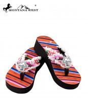 SE32S008(COR)-(SET-12PCS)-MW-wholesale-flip-flops-12pc-set-montana-west-serape-wedge-canvas-crystal-cross-concho-rhinestones-stud(0).jpg