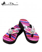 SE32S008(PK)-(SET-12PCS)-MW-wholesale-flip-flops-12pc-set-montana-west-serape-wedge-canvas-crystal-cross-concho-rhinestones-stud(0).jpg
