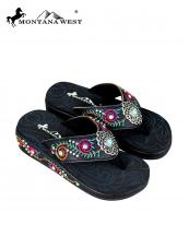 SE68S152(BK)-(SET-12PCS)-MW-wholesale-flip-flops-12pc-set-montana-west-floral-turquoise-silver-concho-embroidery-logo-multicolor(0).jpg