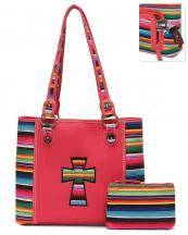SER25434C(COR)-wholesale-handbag-pouch-bag-set-cross-serape-multicolor-stripe-canvas-fabric-leatherette-concealed(0).jpg