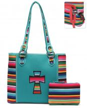 SER25434C(TQ)-wholesale-handbag-pouch-bag-set-cross-serape-multicolor-stripe-canvas-fabric-leatherette-concealed(0).jpg