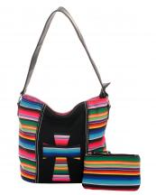 SER25435C(BK)-wholesale-handbag-pouch-bag-set-cross-serape-multicolor-stripe-canvas-fabric-leatherette(0).jpg